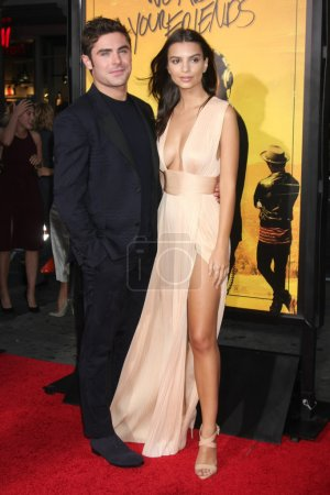 "Photo for HOLLYWOOD - AUG 20: Zac Efron, Emily Ratajkowski at the ""We Are Your Friends"" Los Angeles Premiere, TCL Chinese Theater, Hollywood, CA 08-20-15 - Royalty Free Image"