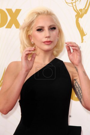 Photo for LOS ANGELES   - SEP 20: Lady Gaga at the 67th Annual Primetime Emmy Awards Arrivals, Microsoft Theater, Los Angeles, CA - Royalty Free Image