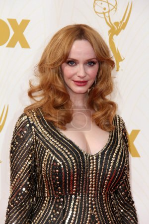 Christina Hendricks at the 67th Annual Primetime Emmy Awards