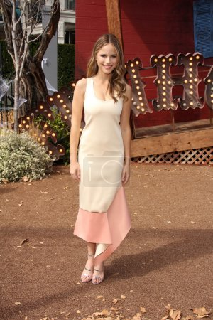 """Photo for Halston Sage at the """"Goosebumps"""" Los Angeles Premiere, Village Theater, Westwood, CA 10-04-15 - Royalty Free Image"""