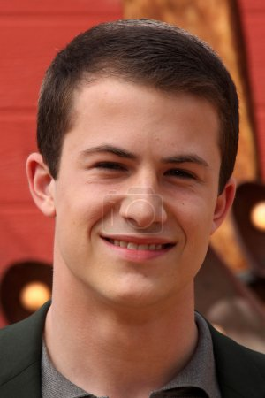 Dylan Minnette at the Goosebumps