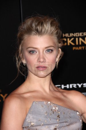 """Photo for LOS ANGELES    - NOV 16,2015: Natalie Dormer at """"The Hunger Games: Mockingjay Part II"""" Los Angeles Premiere, Microsoft Theater, Los Angeles, CA - Royalty Free Image"""