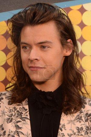 Photo pour LOS ANGELES - NOV 22 : Harry Styles aux American Music Awards 2015, Microsoft Theater, Los Angeles, CA - image libre de droit