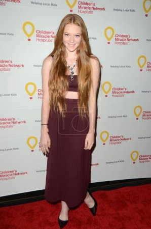 Photo for HOLLYWOOD  - DEC 12: Larsen Thompson at the Children's Miracle Network Hospitals' Winter Wonderland Ball, Avalon, Hollywood, CA - Royalty Free Image