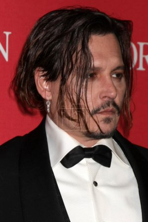 Photo for PALM SPRINGS  - JAN 02: Johnny Depp at the 27th Palm Springs International Film Festival Gala, Palm Springs Convention Center, Palm Springs, CA 01-02-16 - Royalty Free Image