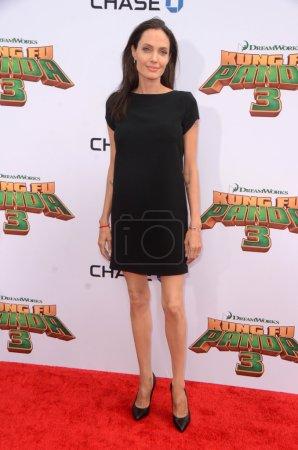 Анджелина Джоли на Кунг