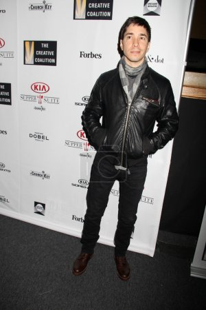 Justin Long at Kia Supper
