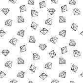 Jewels fashion seamless pattern