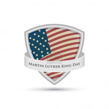 Martin Luther King day badge