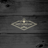 Fathers day badges logos and labels