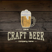 Craft beer badges logos and labels for any use