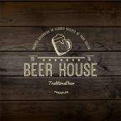 Beer house badges logos and labels for any use