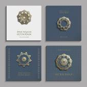 Set-of-business-cards-with-gold-3d-emblems