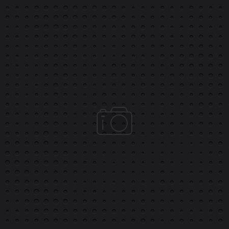 Dark plastic Dotted cartoon background, texture, grill pattern