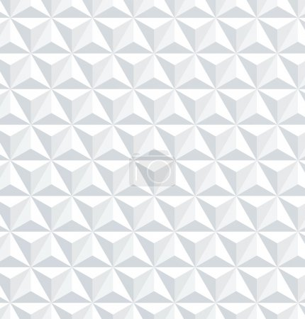 Abstract 3d geometric seamless pattern illustratio...