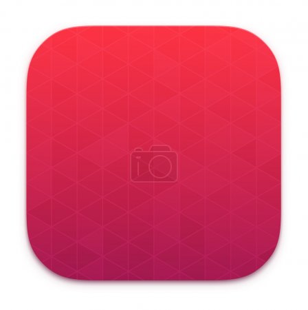 Illustration for App icons background. templates pack for your design - Royalty Free Image