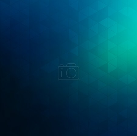 Illustration for Abstract background with geometric elements. Vector - Royalty Free Image
