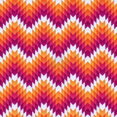 Aztec seamless pattern. Vector