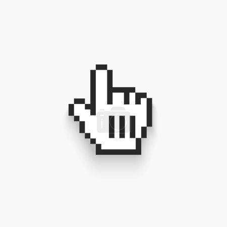 Vector Mouse hand cursor