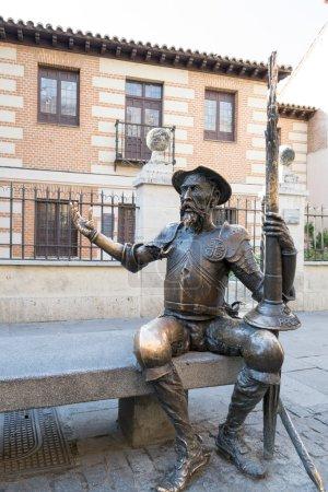 Don Quiote statue