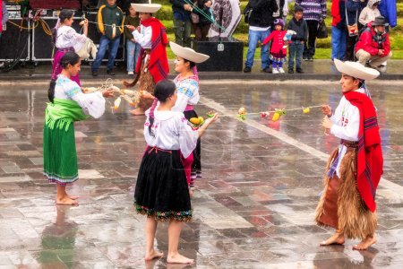 Teenager Celebrating Inti Raymi Pageant