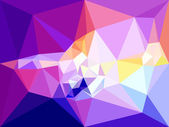 Vector low poly background Abstract diamond background in violet colors
