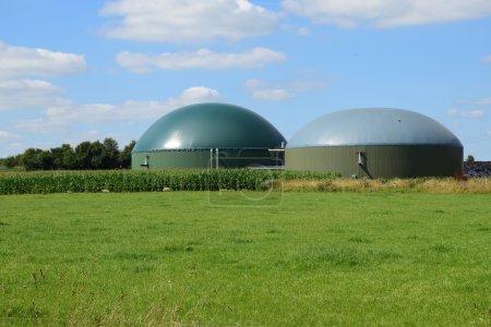 bio gas plant, renewable Resources for renewable energy