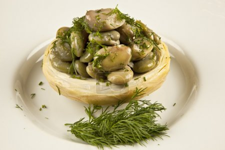 artichokes with olive oil