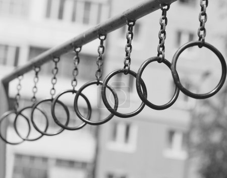 Ghetto street workout, rings