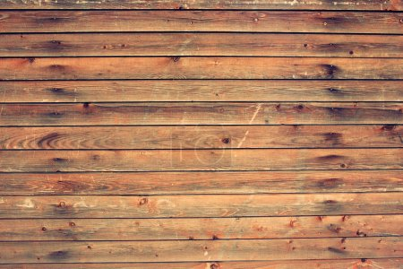 Photo for Wooden table. Top view - Royalty Free Image
