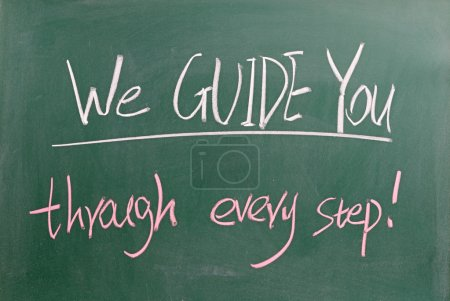 We guide you through every step
