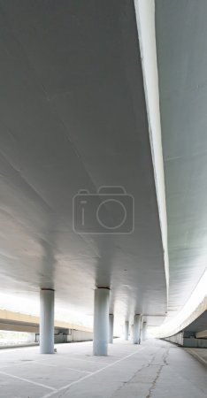 Overpass bridge, low angle view at Shanghai