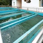 Modern urban wastewater treatment plant...