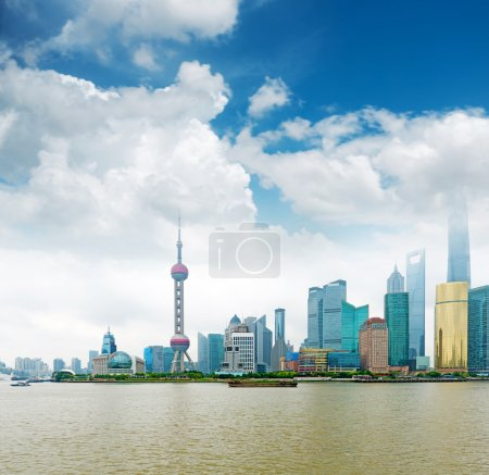Photo for Modern city, Shanghai skyline in daytime - Royalty Free Image