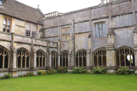 Anglo-Saxon abbey, Lacock, Wiltshire, England
