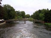Most přes řeku Avon, Oxford, Anglie