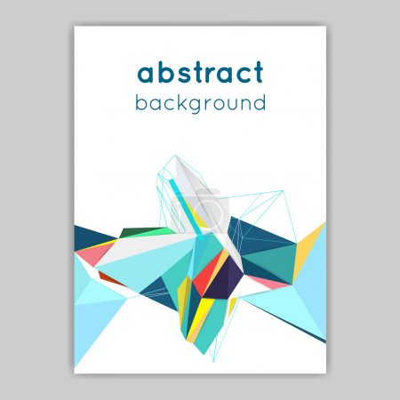 Brochures with geometric elements