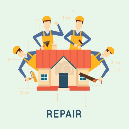 Home repairs illustration