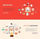 Online banking theme