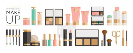 Beauty products collection