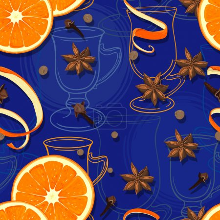 Mulled wine pattern