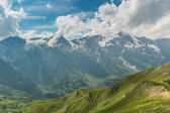 Nézd a Grossglockner magas alpesi út a hegyek