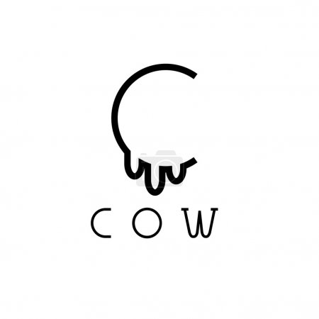 cow monogram