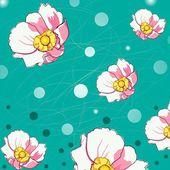 Vzor květy
