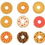 Постер, плакат: Donuts 3