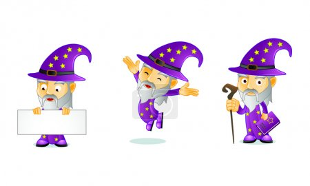 Wizard Mascot 1