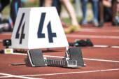 starting block in track and field