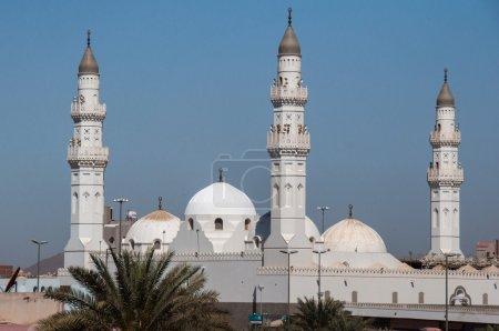 Photo for Quba Mosque in Al Madinah, Saudi Arabia. - Royalty Free Image