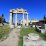Ruins of Athens, Ancient Agora, Greece...