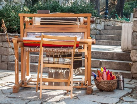 Old-fashioned loom